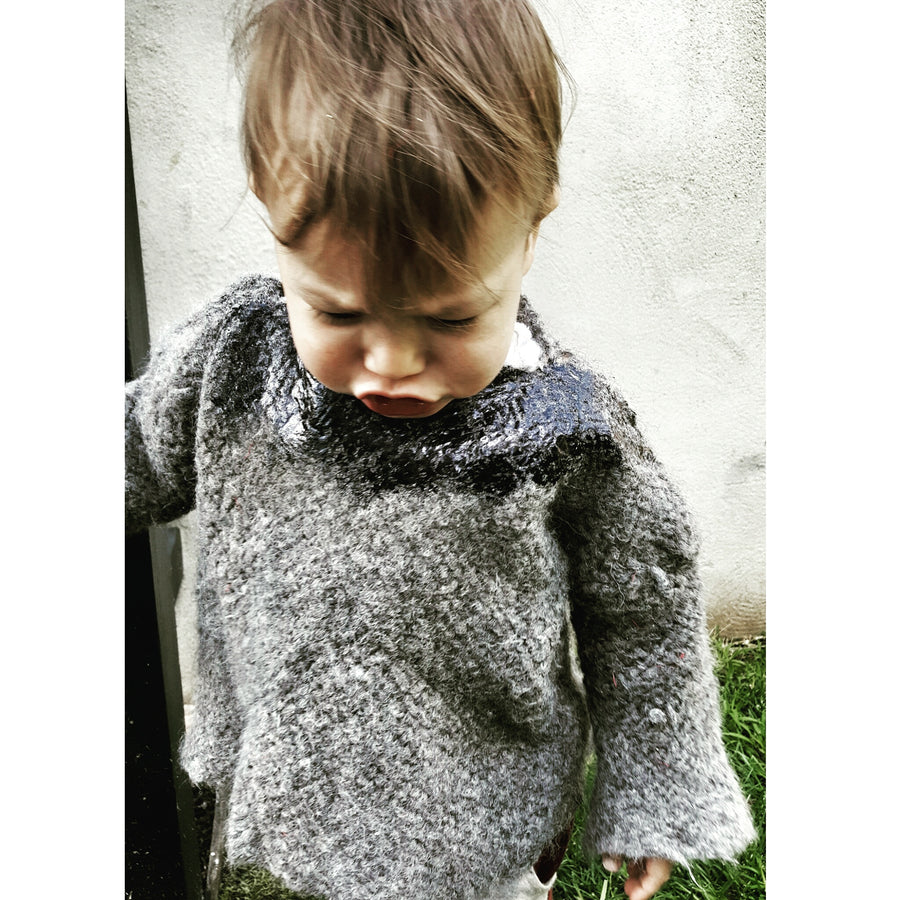 Amano Kids - black Foil Sweater