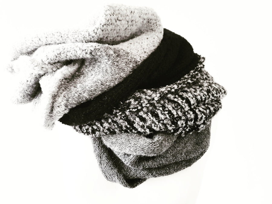 Fabrica alpaca snood collar