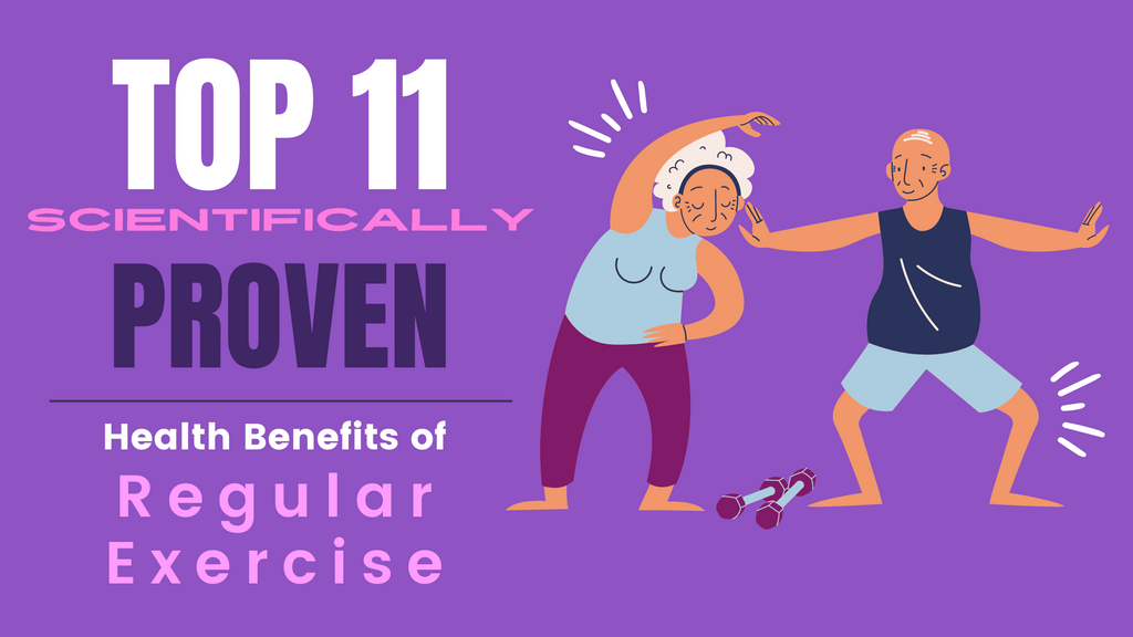 Top 11 Scientifically Proven Health Benefits of Regular Exercise