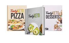 Load image into Gallery viewer, Tasty Keto Cookbook Bundle