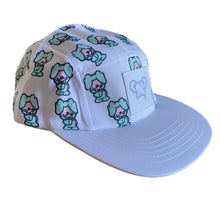 "Load image into Gallery viewer, ""Smile"" 5 panel hat"