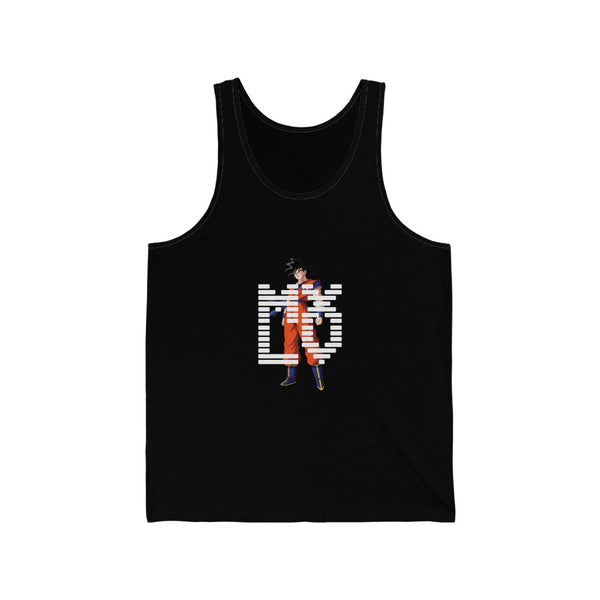 Maxedlevel Goku Tank Top