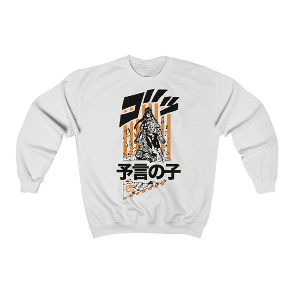 Neji Uppercutted Crew Neck Sweatshirt