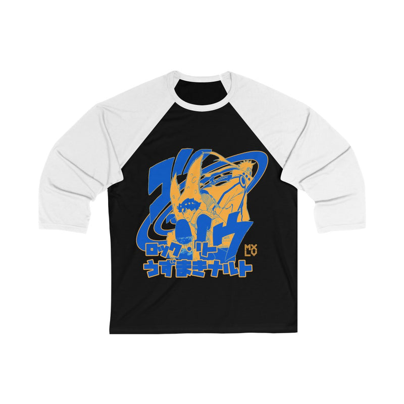 Sharing Chakra Lee + Uzumaki 3/4 Sleeve Baseball Tee
