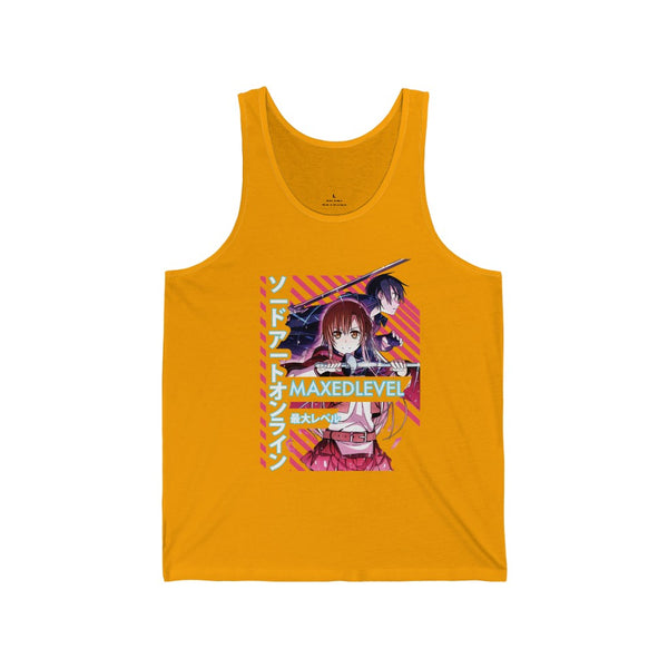 SAO x Maxed Level Tank Top