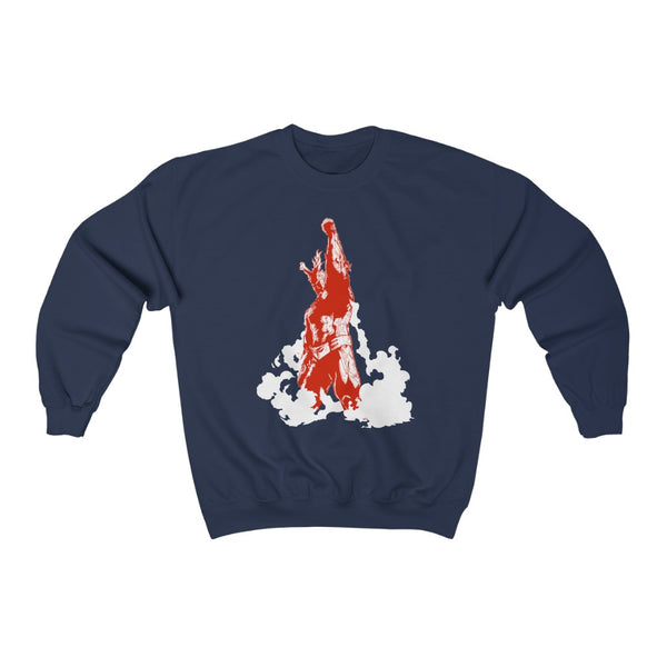 All Might Plus Ultra Crew Neck Sweatshirt