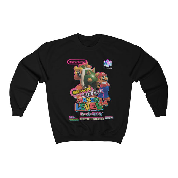 Super Bros. 64 Maxed Crew Neck Sweatshirt