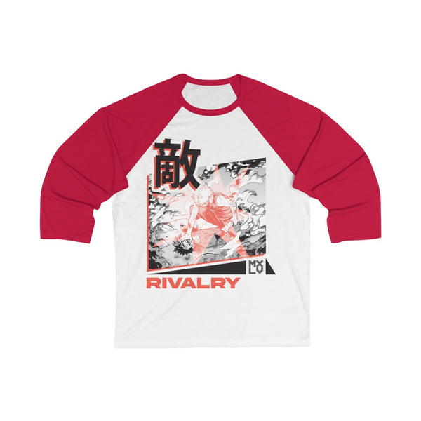 Bakugo Rivalry 3/4 Sleeve Baseball Tee