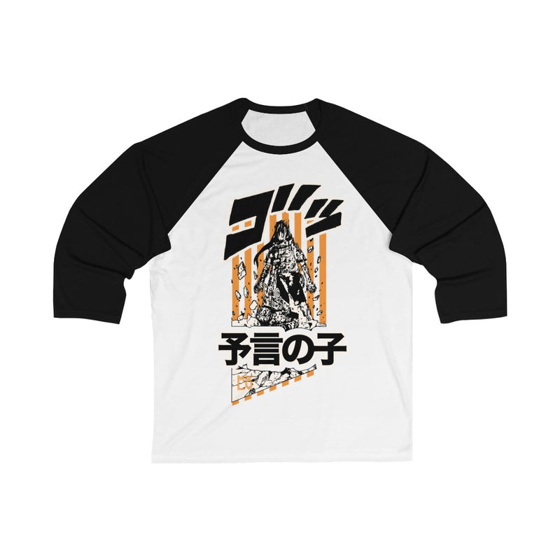 Neji Uppercutted 3/4 Sleeve Baseball Tee