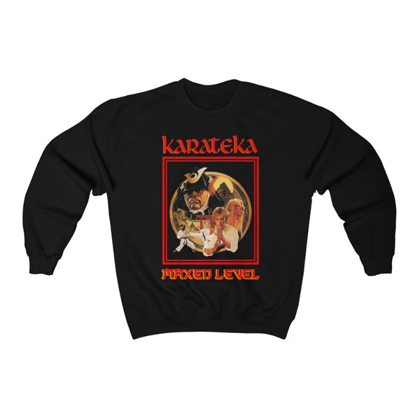 Karateka Cover Art Crew Neck Sweatshirt