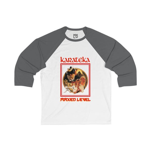 Karateka Cover Art 3/4 Sleeve Baseball Tee