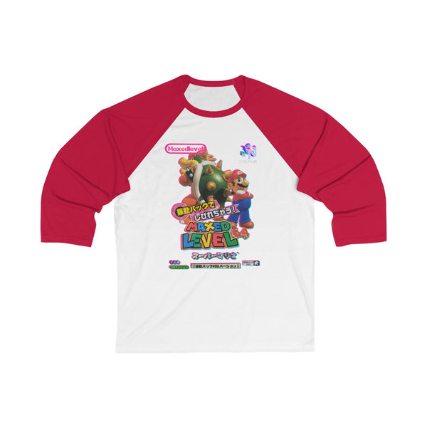Super Bros. 64 Maxed 3/4 Sleeve Baseball Tee