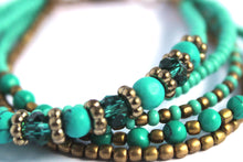 Load image into Gallery viewer, Najesha aqua teal Naj59 bracelet