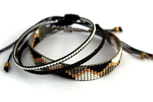 Bracelet 3 pack elegant and chic N09