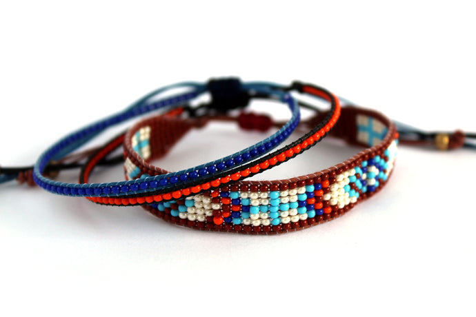 Bracelet 3 pack Native style N04