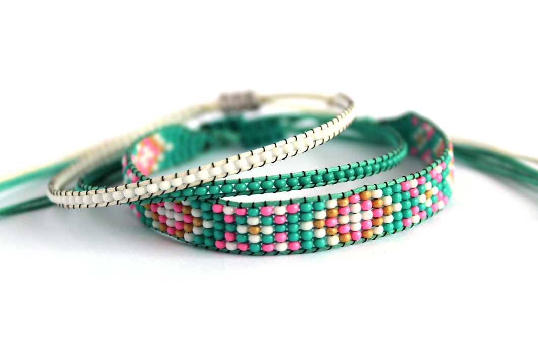Bracelet 3 pack Happy Hippie N03