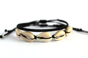 Bracelet 2 pack Surfer Dude black NJS011