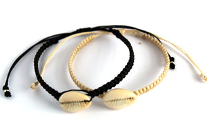 Cowrie Surfer Dude bracelet natural SR002