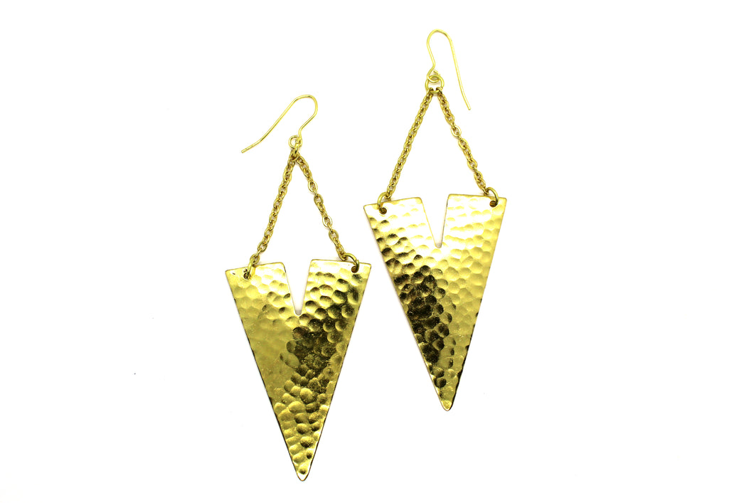 Queen Vee earrings ARA001G