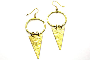 Arrowhead earrings GRI001