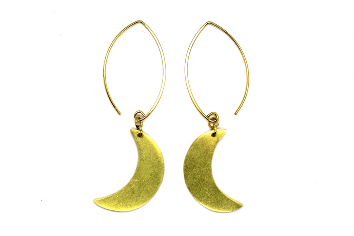 Half Moon Dangle earrings  NAJ302G