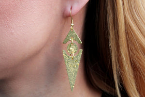 Spear earrings RAS018G