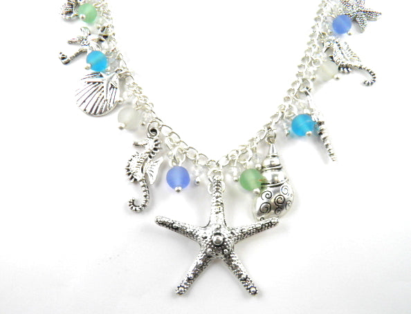 Naj176 starfish necklace