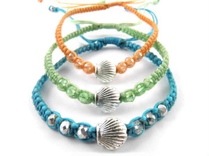 SR761 fan shell bracelet 3pk