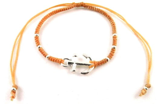 SR777 peach Anchor bracelet