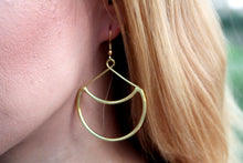 Load image into Gallery viewer, Hollow Moon earrings  RAS049G