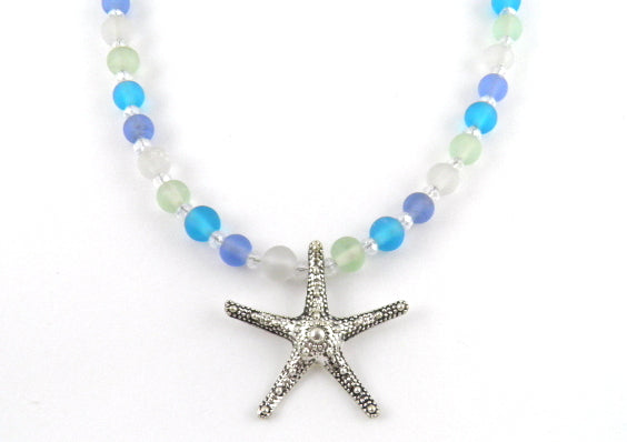 Naj117 starfish necklace