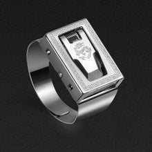 Load image into Gallery viewer, Personal protective ring invisible protection personal security men and women self-defense personal ring