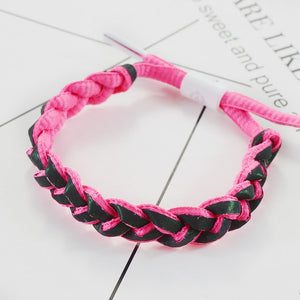 Multiple series Little Lion Fluorescent Woven Holographic Reflective Bracelet Luminous Colorful Starry Sky Shoelace Bracelet