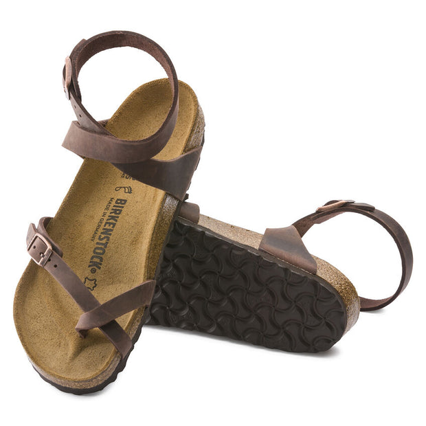 BIRKENSTOCK YARA HABANA OILED LEATHER - Atlas Apparel Co.