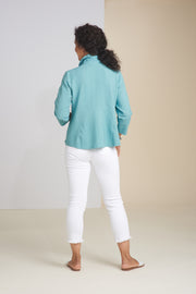 HABITAT CLOTHING RUCHED COLLAR JACKET 20639