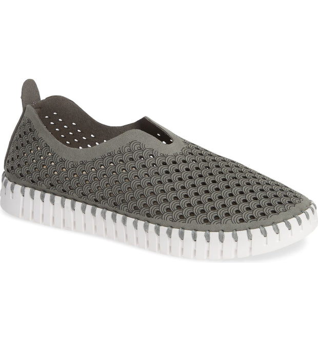 ILSE JACOBSEN TULIP WASHABLE SNEAKER GRAY - Atlas Apparel Co.