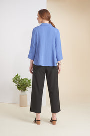 HABITAT MIXED BUTTON TOP 30612