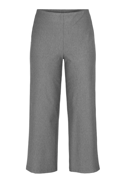 TRIBAL PULL ON PALAZZO PANT OPTIC GREY 2248 - Atlas Apparel Co.