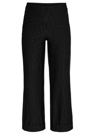 TRIBAL BLACK PANT WITH PIN STRIPES 39150