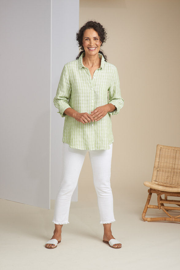HABITAT LINEN TOP 43425 - Atlas Apparel Co.