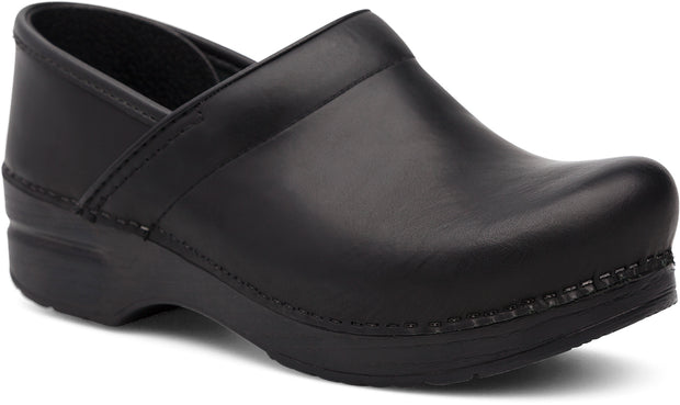 DANSKO BLACK CABRIO PROFESSIONAL CLOG - Atlas Apparel Co.