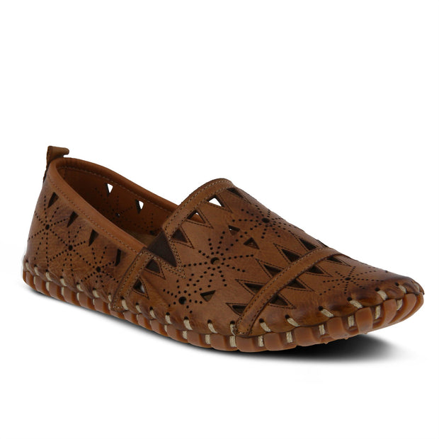 SPRING STEP FUSARO SLIP ON BROWN