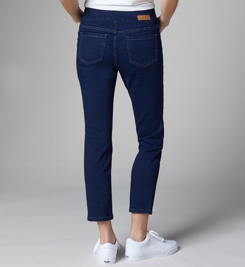 JAG JEANS AMELIA ANKLE INK BLUE - Atlas Apparel Co.