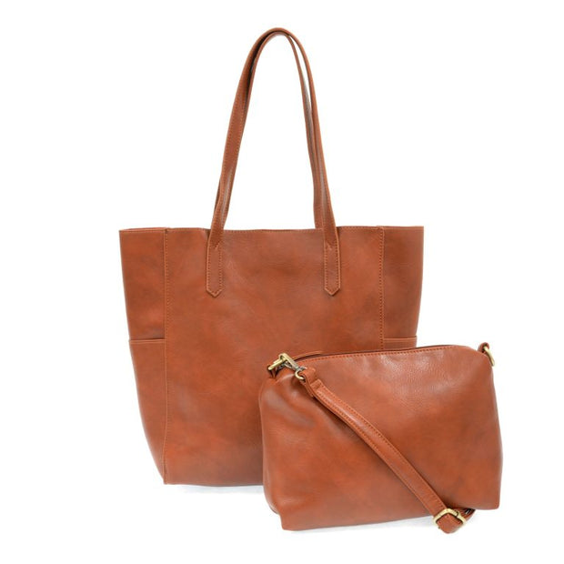 JOY SUSAN NORTH SOUTH BELLA TOTE L8036-39 - Atlas Apparel Co.