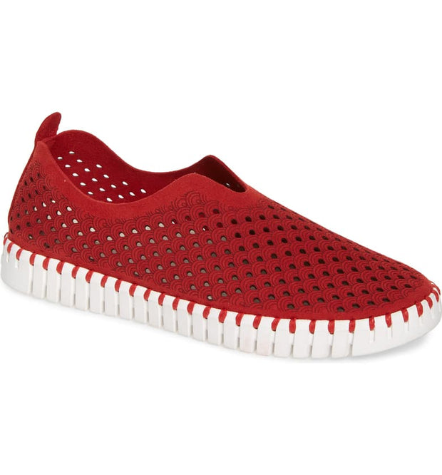 ILSE JACOBSEN TULIP WASHABLE SNEAKER RED - Atlas Apparel Co.