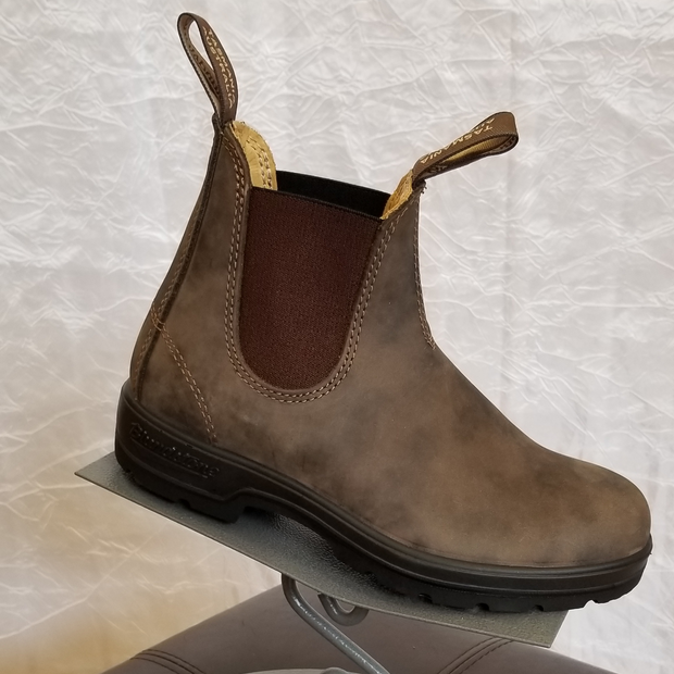 BLUNDSTONE 585 RUSTIC BROWN BOOT - Atlas Apparel Co.