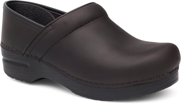 DANSKO BLACK OILED PROFESSIONAL CLOG - Atlas Apparel Co.