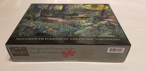 Old Growth Forests of the Pacific Northwest Puzzle by Port Townsend Artist