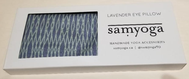 Lavender Eye Pillow Soft Blue/Green