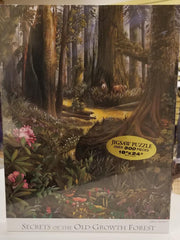 Secrets of the Old-Growth Forest Puzzle by Port Townsend Artist